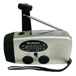 Solar Dynamo Radio with Flashlight /Solar Hand Crank Radio