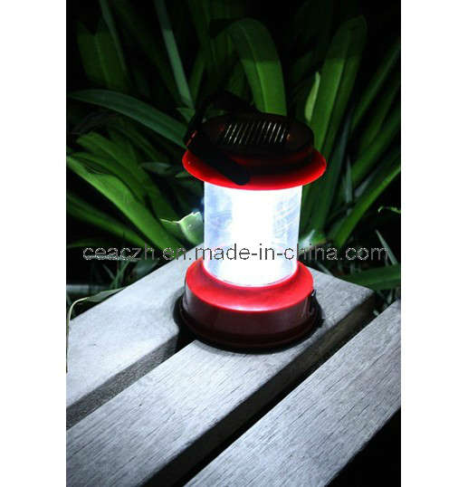 Solar Camping Light Charger and Radio Flashlight