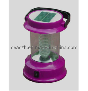 LED Solar Camping Light Charger and Radio Lantern